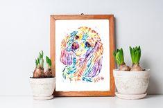 Cocker Spaniel Art by Whitehouse Art American Cocker Spaniel, Cocker Spaniel Dog, English Cocker Spaniel, Dog Paintings, Watercolor Paintings, Pet Portraits, Pugs, Art Prints, Wall Art