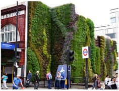 Edgware Road Installation | Community Post: 39 Insanely Cool Vertical Gardens