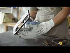 Tearing down a Dongcheng Circular saw and using angle grinder head for the saw lift. Workbench Table, Construction Machines, Angle Grinder, Circular Saw, Table Saw, Youtube, Homemade Tools, Homemade, Youtubers
