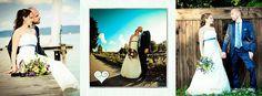 Brautpaar bei Sonnenschein
