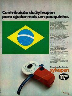 Rotulador Sylvapen #Brasil #anos70 #retro #vintageads #anunciosantigos #BrasilRetro
