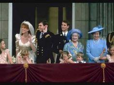 The Duke & Duchess of York Prince Andrew and Sarah Ferguson Wedding July 1986