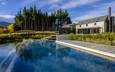 The Lodge at the Hills - Queenstown, NZ | View Retreats #SwimmingPool