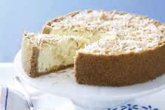 For a mouth-watering twist on an old favourite, try our pineapple coconut cheesecake.