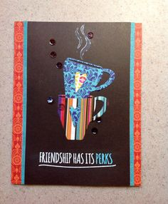 Created by Pam T. using the October 2014 card kit by Simon Says Stamp.  Stamptember 2014
