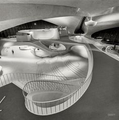 Trans World Airlines Terminal. Idlewild Airport, Queens, New York: 1964