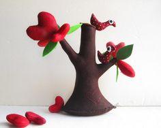 Tree of Love with birds - via Etsy.