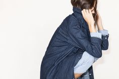 What To Wear With Your New Jeans #refinery29  http://www.refinery29.com/outfits-with-jeans#slide11  The Boxy Denim Jacket If your favorite denim jacket and a menswear-like trench had an adorable lovechild, this would be the result.