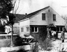 """The former Clutter home near Holcomb, Kansas, the scene of the November 14-15, 1959 murders that inspired """"In Cold Blood"""""""