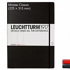 Notizbuch Master Classic (A4+), Hardcover, 233 nummerierte Seiten 24,50 €
