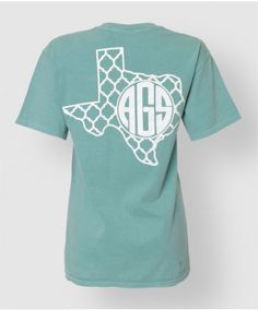 Show off your support for the Ags with this monogram shirt! Printed on 100% soft heavy-weight cotton, this shirt is sure to turn heads! The ...