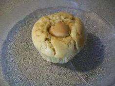 Muffins mit Apfel, Haselnuss und Marzipan
