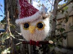 santa owl!