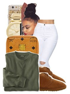 by ayeeitsdessa ❤ liked on Polyvore featuring Michael Kors, Smashbox, MCM and UGG Australia
