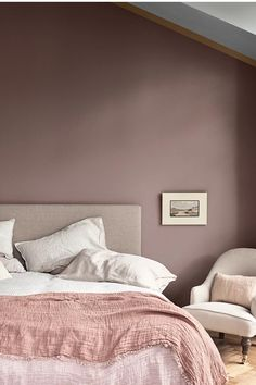 Top 10 des erreurs à éviter quand on aménage sa chambre - Marie Claire Marie Claire, Dulux Valentine, Home Projects, Bedroom, House, Design, Bedroom Paintings, Home