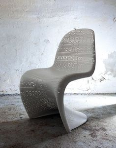 Ben Adams Architects chair.  2nd place in this competition, because you could actually sit in it.