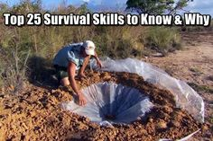 Top 25 Survival Skills to Know & Why - I'm a firm believer that knowledge is the best advantage you can have when in the wilderness. And here's the reason why: you're not always going to have your fancy equipment in a survival situation.