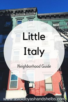 Our newest neighborhood guide features one of the smallest, but perhaps the yummiest neighborhood in Manhattan- Little Italy! This little neighborhood is only comprised of a few blocks, but every inch is filled with some of the best food… New York City Vacation, New York City Travel, Train Travel, Travel Usa, Train Trip, Italy Travel, Manhattan Times Square, Lower Manhattan, Little Italy New York