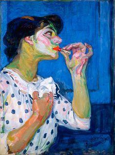 Frantisek Kupka • Le Rouge à lèvres n° II, 1908