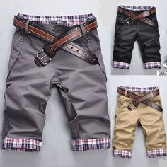 Men's Hot Sell Summer Modern Style Casual Shorts Pants E606 3Color 4Size | eBay