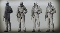 ArtStation - Smoking Soldier, Randy Forsyth