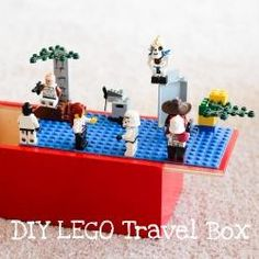 DIY LEGO Travel Box--need this for our 28 hour drive this summer!