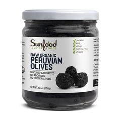 Olives, Peruvian, 10.5oz, Organic, Raw