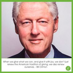 Renew, reuse &#Repurpose. Love this quote by#BillClinton!#MotivationalMonday