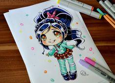 princesas-disney-tiernas-dibujo-Lighane-7.jpg (900×648)
