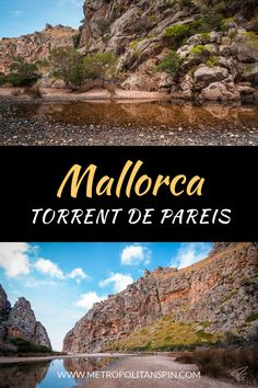 """Need a change of scenery? How about a trip to """"Torrent de Pareis""""? #europe #mallorca"""