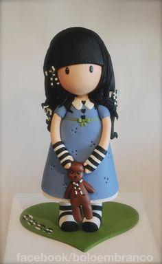 3D Gorjuss Cake - Cake by Bolo em Branco [by Margarida Duarte]