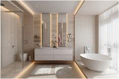 Master bathroom designs that feature creative bathroom layouts, modern bathroom furniture designs & beautiful bathroom accessories, plus bathroom decor tips. Bathroom Interior Design, Home, Trendy Bathroom, Bathroom Sink Vanity, Modern Bathroom Design, Double Sink Bathroom Vanity, Diy Bathroom Remodel, Luxury Bathroom, Bathrooms Remodel
