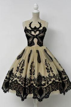 Antlered Tea Dress - Because you still need something fancy for those fancy pants events...