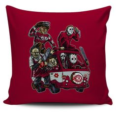 The Massacre Machine Alabama Crimson Tide Pillow Covers – Best Funny Store