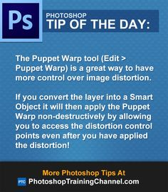 The Puppet Warp tool (Edit > Puppet Warp) is a great way to have more control over image distortion.If you convert the layer into a Smart Object it will then apply the Puppet Warp non-destructively by allowing you to access the distortion control points even after you have applied the distortion!