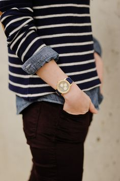 Stripes & chambray