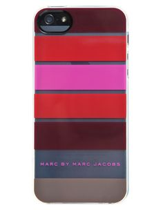 Marc by Marc Jacobs iPhone 5 Poofy Stripe Phone Case