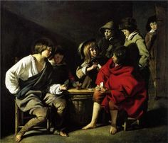 small card players - Le Nain brothers - WikiPaintings.org