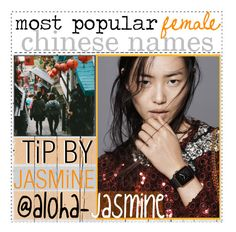 """🇨🇳:; most popupar female chinese names"" by the-polyvore-airline ❤ liked on Polyvore featuring art and natjulieta"
