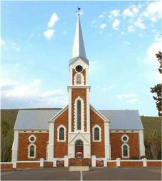 Dutch Reformed church, Joubertina Old Churches, Church Building, Mosques, Cathedrals, Kirchen, Notre Dame, South Africa, Dutch, Places To Go