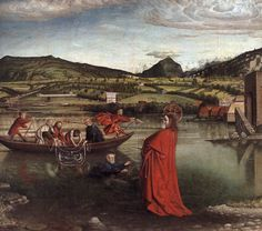 """The Miraculous Draught of Fishes"" (1443-1444) Musee d Art et d Histoire, Geneva"