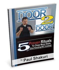 5 Free Door To Door Sales Rituals to close more Deals