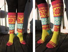 quelque chose à tricoter Chienne: chaussettes