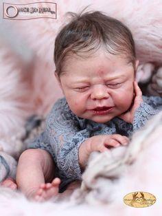 Emmelie Reborn Vinyl Doll Kit by Ulrike Gall Silicone Reborn Babies, Silicone Baby Dolls, Reborn Nursery, Reborn Baby Girl, Reborn Doll Kits, Reborn Baby Dolls, Birth Announcement Boy, Realistic Baby Dolls, Lifelike Dolls