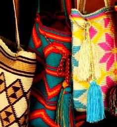 Tejidos más utilizados en la artesanía Wayúu. Zulia, Venezuela