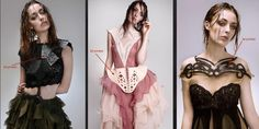NID Students Create Astonishing 3D Printed Fashion Accessories http://3dprint.com/87958/nid-3d-printed-fashion/