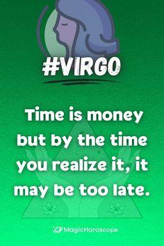 🔮 Read your #DailyHoroscope prediction for today 🔮 #Horoscope #Horoscopes #Prediction #HoroscopePrediction #MagicHoroscope #Zodiac #Astrology #ZodiacSigns #Aries #Taurus #Gemini #Cancer #Leo #Virgo #Libra #Scorpio #Sagittarius #Capricorn #Aquarius #Pisces Virgo Horoscope, Daily Horoscope, Virgo Zodiac, Sagittarius, Zodiac Signs, Astrology, Horoscopes, Aquarius, All About Virgo