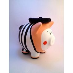 marranitos decoradas - Buscar con Google Penny Bank, Cute Piggies, Piggy Banks, Birthday Parties, Hand Painted, Ceramics, Crafty, Creative, Kids