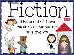 Fiction and Nonfiction Poster Freebie