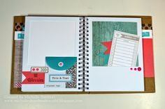 Mini-Album using CTMH Hip Pics Album, Seaside paper and Hello Summer Stamp set. Also uses My Crush Assortment and Washi Tape. Tons of photos on post. Annual Inspirations New Product Blog Hop
